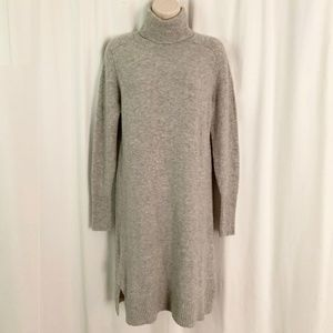 J. Crew Turtleneck Dress in Supersoft Yarn